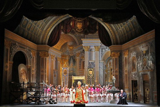 Finale to Act I of Tosca