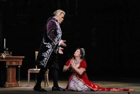 Tosca pleads for mercy in vain