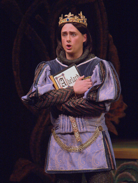 Robert Vann as Prince Hilarion; photo by Lucas Buxman