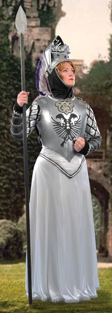 Jennifer Ashworth as Princess Ida; photo by David Allen