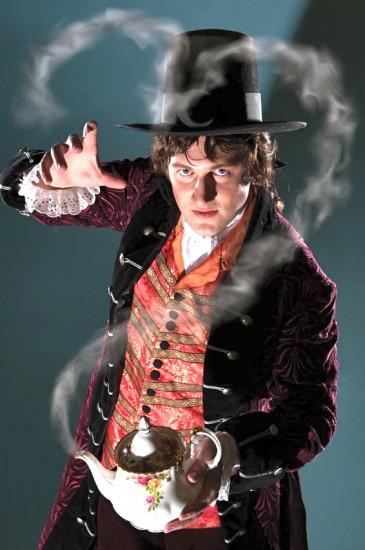 Chris Uzelac as John Wellington Wells; Photo by David Allen, Joanne Kay
