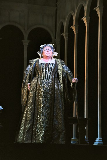 Cast 1: Mezzo-soprano Patrice Houston as the Princess