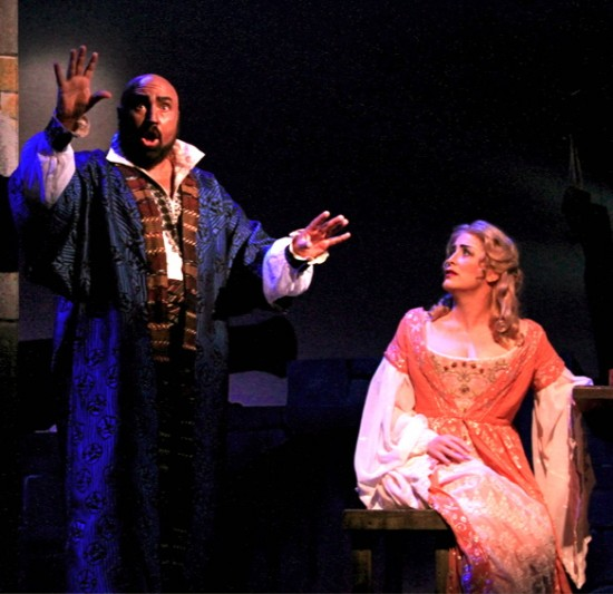Otello (David Gustafson) and Desdemona (Cynthia Clayton) - 1st act duet