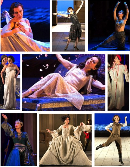 The many costumes of Cleopatra