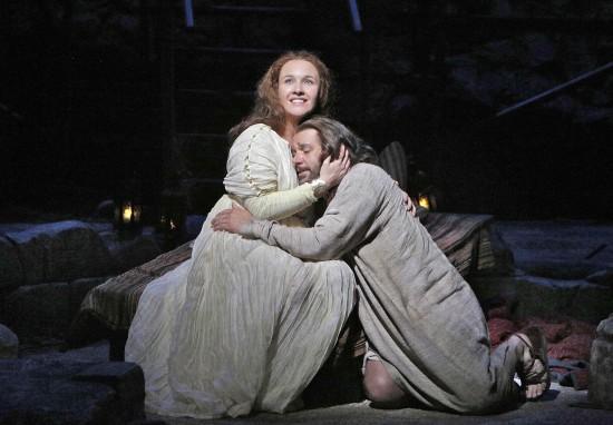 Mary comforts Yeshua