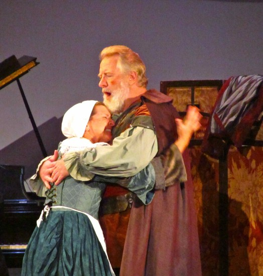 Mistress Ford with Falstaff (Gregory Stapp)