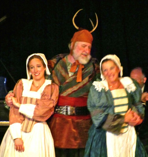 Sir John Falstaff with Meg Page and Alice Ford