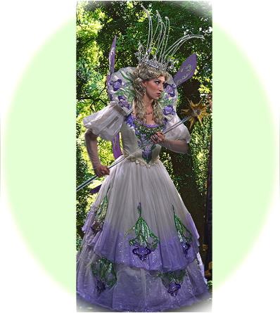 Cary Ann Rosko as the Fairy Queen; photo by David Allen