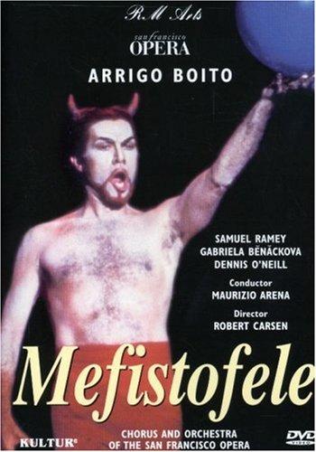 Samuel Ramey; photo of DVD cover, San Francisco Opera, 2000