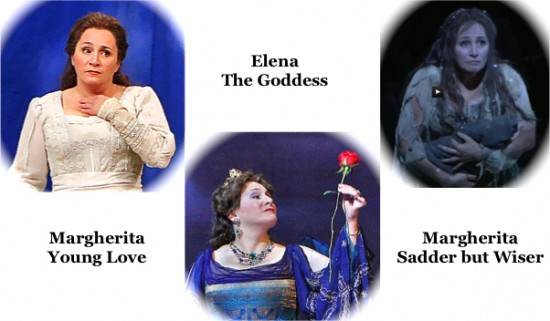 The three faces of Patricia; Goddess & Sadder: video clips
