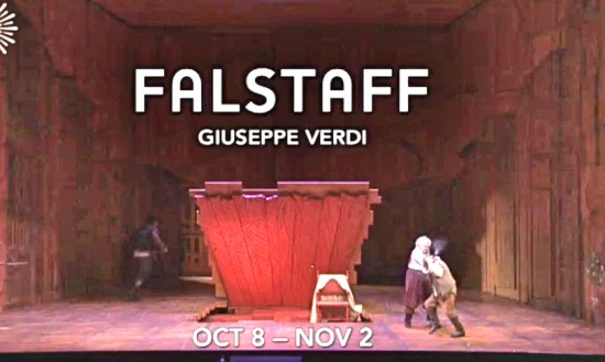Falstaff, Opening Scene; video clip