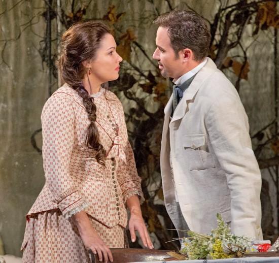 Tatiana & Onegin (Mariusz Kwiecian), Act I