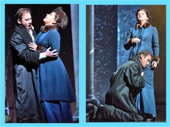 Onegin (Mariusz Kwiecian) & Tatiana, Act III
