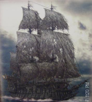 The Flying Dutchman, Ghost Ship; photo courtesy pirateslove.wikia.com