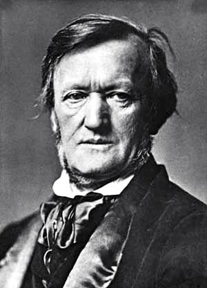 Richard Wagner; photo courtesy Wikimedia Commons