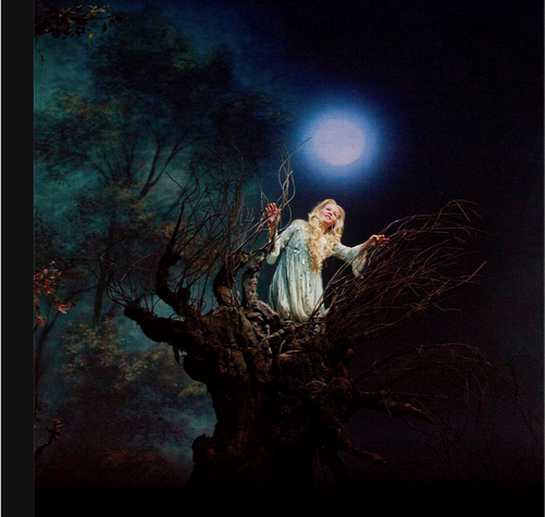 Renee Fleming as Rusalka; photo: Ken Howard/Met Opera
