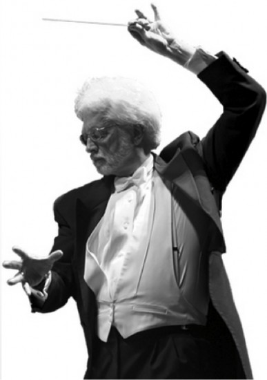 Maestro David Rohrbaugh; photo from OSJ archive