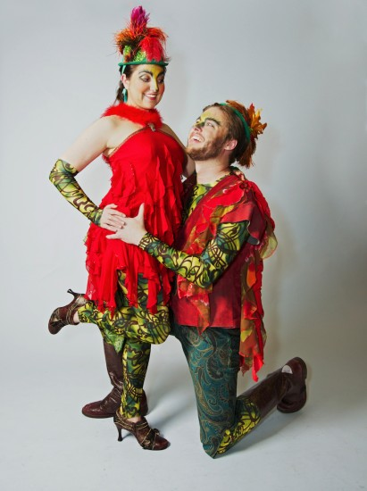Jordan Eldridge as Papageno; Chelsea Hollow as Papagena